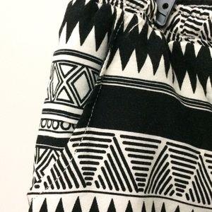 No Boundaries Shorts - No Boundaries flowy tribal print shorts
